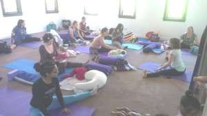 mom baby yoga bini