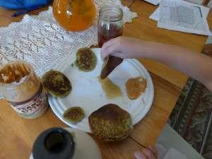 Green Pancakes yum 02