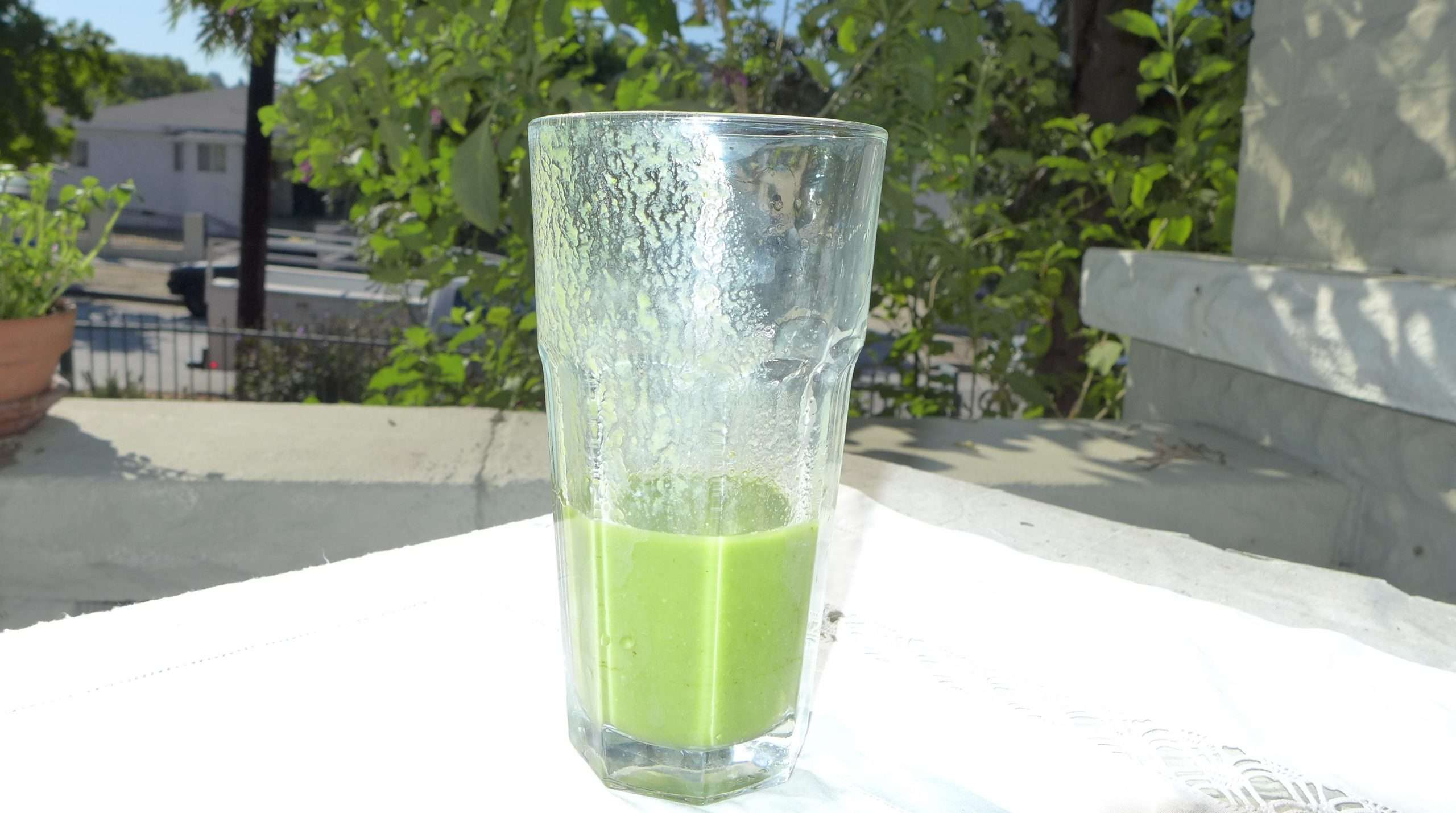 Green smoothie MAyurveda