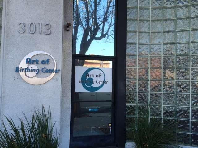 Marina Del Rey - the Art of Birthing Mayoga front door