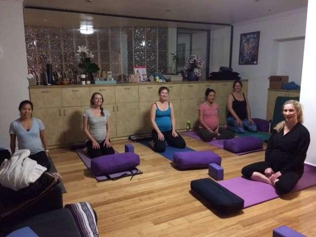 Prenatal yoga Marina Del Rey class
