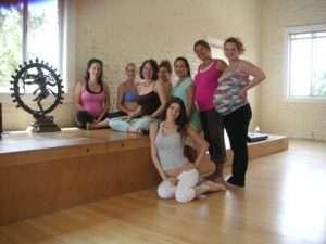 Ma Yoga prenatal yoga students