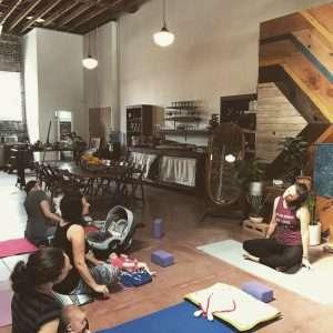 Ma Yoga class