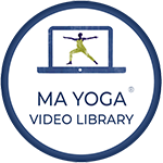 prenatal yoga online classes live, and in a searchable library- Ma Yoga Living Membership
