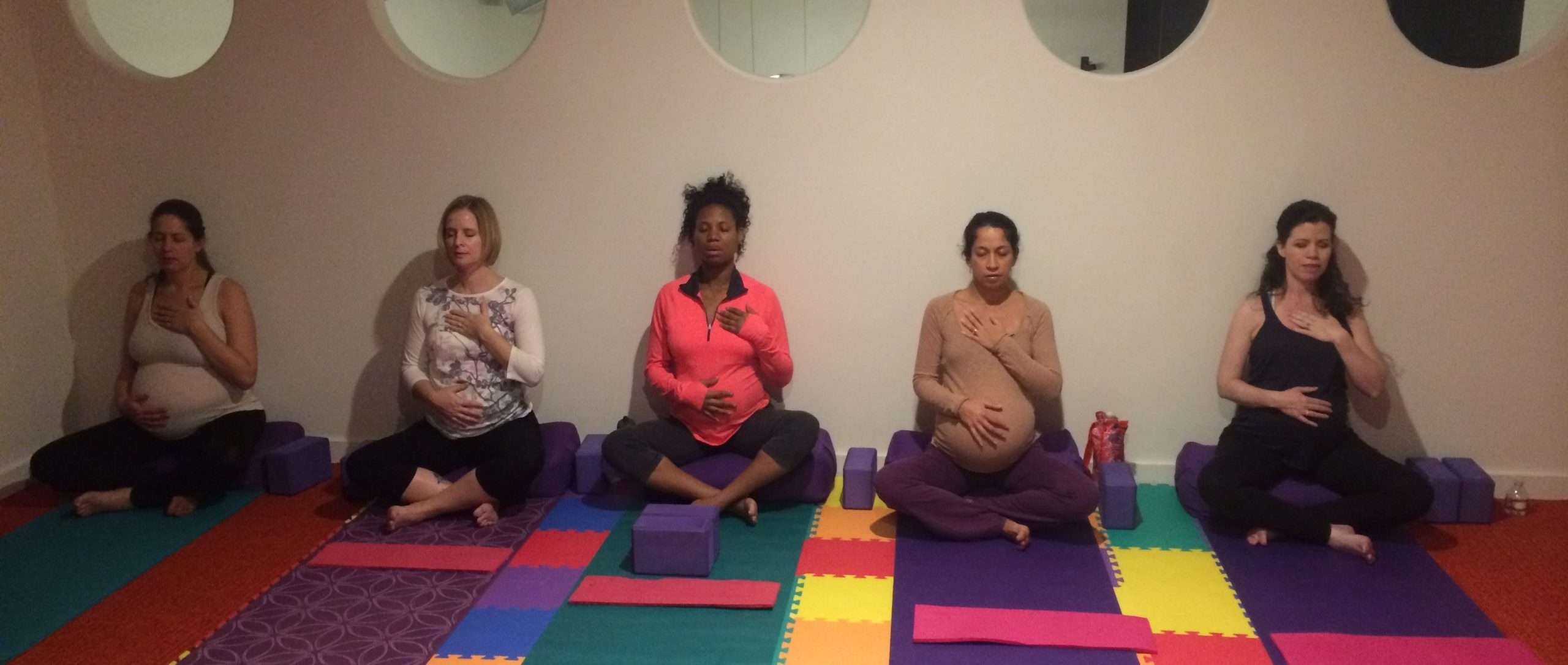Online Prenatal Yoga Mom Baby And Yoga In The Ma Yoga